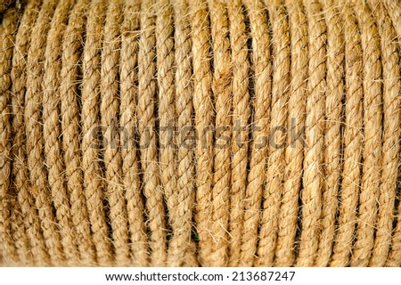 Detail rope Background  - stock photo