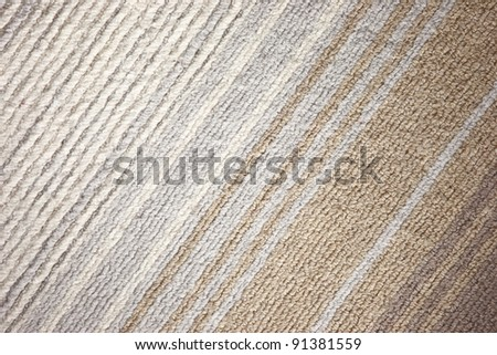 detailed carpet - stock photo