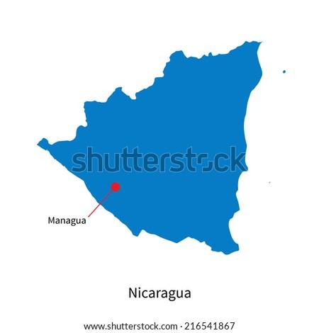 Nicaragua Capitals Nicaragua And Capital City