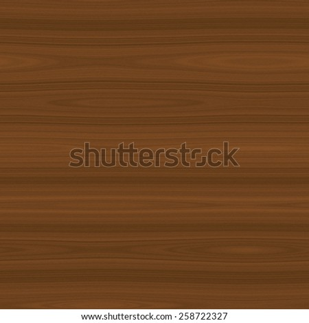 Detailed seamless wood texture in middle brown color - stock photo