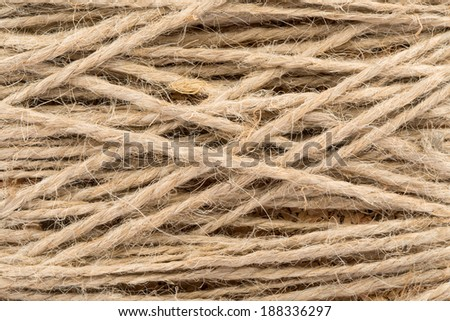 Detailed view of tight rope as background - stock photo
