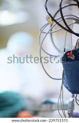 Details of ambulatory equipment - stock photo