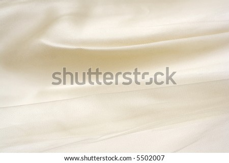 Details of an Elegant Formal Two-Piece Gown - stock photo