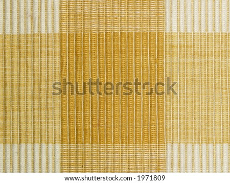 Details of flax table napkin one, close-up - stock photo