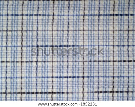 Details of tablecloth, close-up - stock photo