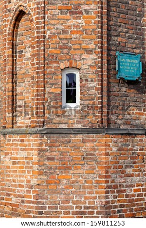 Details of the historic architecture of Gdansk - Poland. - stock photo