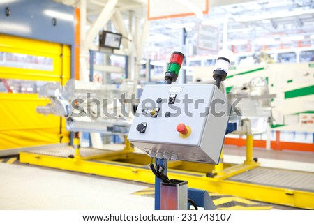 Details of the industry - stock photo