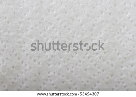 Details of Toilet Paper - stock photo