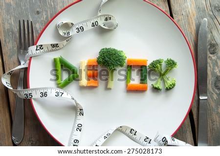 Detox diet - stock photo