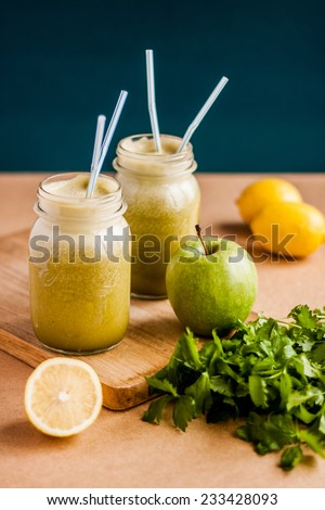 Detox juice - stock photo