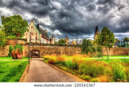 Deutschherrenhaus in Koblenz - Germany, Rheinland-Pfalz - stock photo