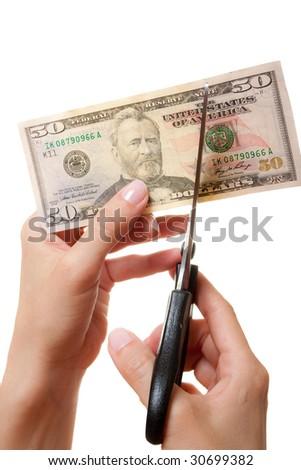 Devaluation - stock photo