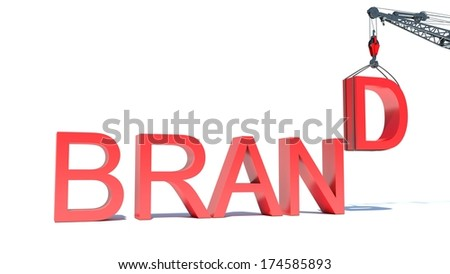 Developing a Brand - stock photo