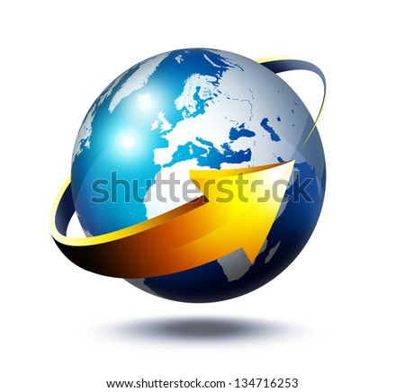 development concept in Europe - stock photo