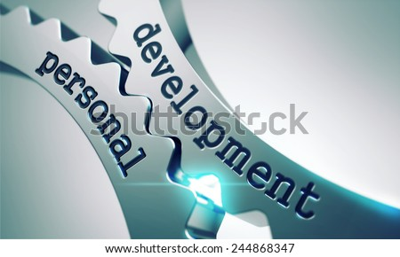 Development - Personal Concept on the Mechanism of Metal Gears. - stock photo