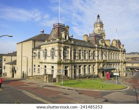 Dewsbury Town Hall, Kirklees, West Yorkshire, UK  - stock photo