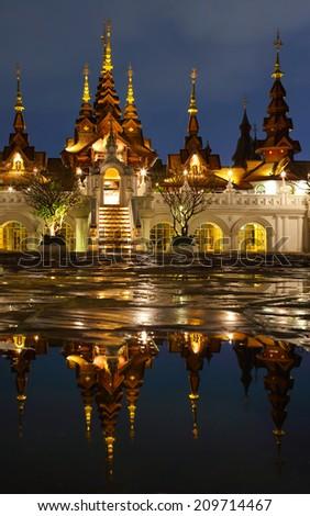 Dhara Dhevi hotel Chiangmai, Thailand - stock photo
