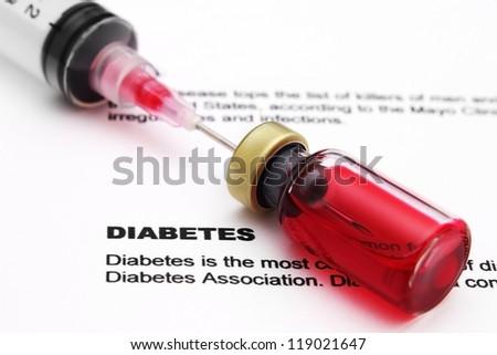 Diabetes - stock photo