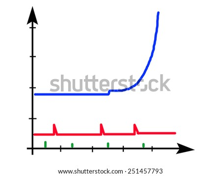 Diagram - stock photo