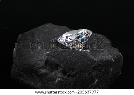 Diamond in the Rough  - stock photo