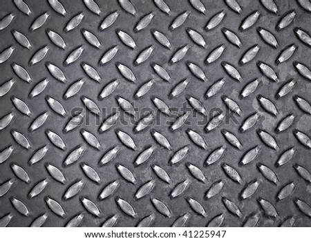 diamond metal background - stock photo