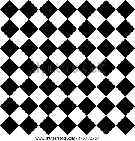 Diamond Pattern in Black for Albums, Graphics, Invitations, and Scrapbooks - stock photo