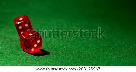 dice for gambling/dice for gambling - stock photo