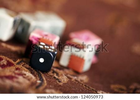 Dices - stock photo