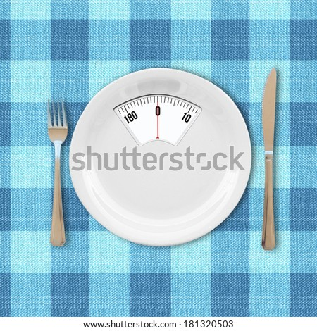 Diet concept - stock photo