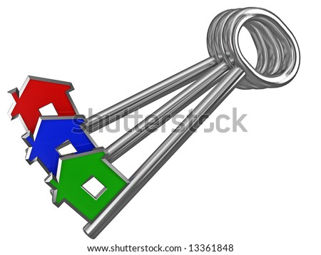 different people need different house - stock photo