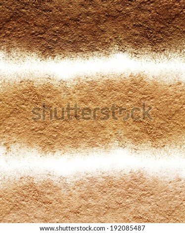 Different tones of mineral powder - stock photo