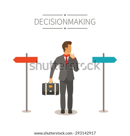 Different ways bitmap concept in flat cartoon style - stock photo