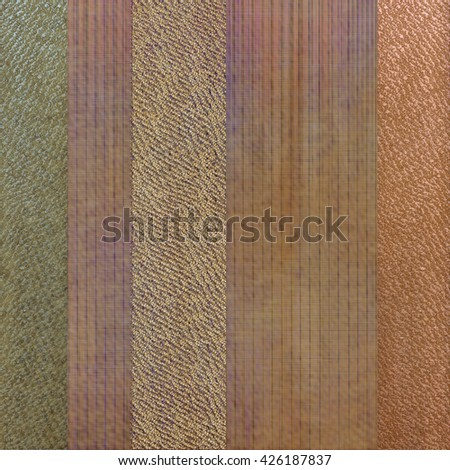 Different wickers background - stock photo