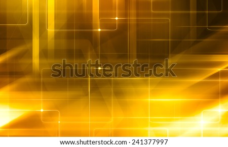 digital abstraction background with lines - stock photo