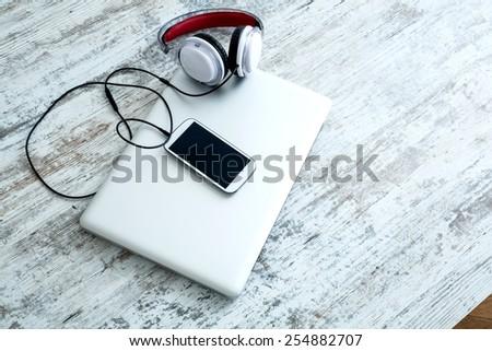 Digital Audio - stock photo