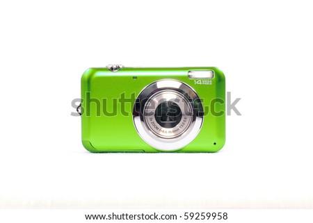 Digital camera - stock photo
