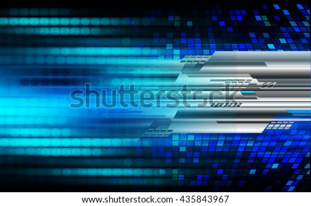 digital data background,blue abstract light hi tech pixel internet technology, Cyber security concept, Cyber digital computer, Cyber background,cyber data, Cyber Technology. move speed motion - stock photo