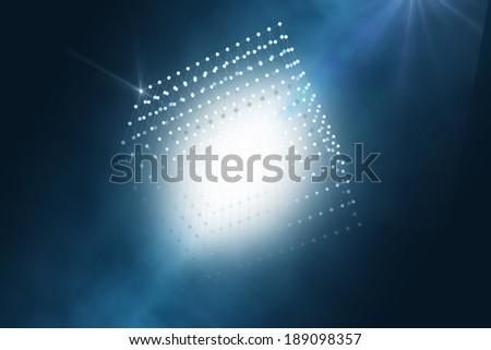 digital illustration cube - stock photo