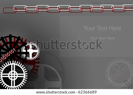 Digital illustration of background in color - stock photo