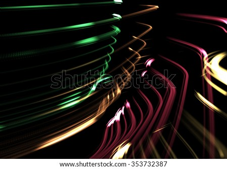 Digital modern connection abstract background (very high resolution) - stock photo