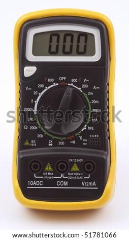 Digital multimeter - stock photo