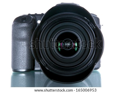 Digital Single Lens Reflex Camera - stock photo