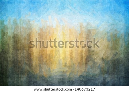 Digital structure of painting. Abstract art vintage background - stock photo