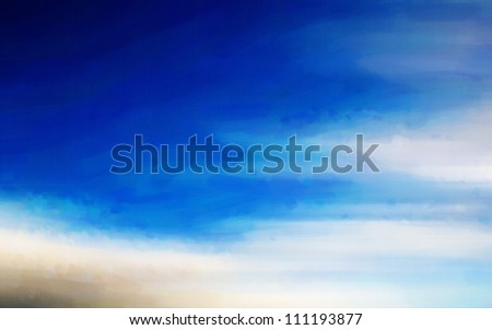 Digital structure of painting. background with abstract lines - stock photo