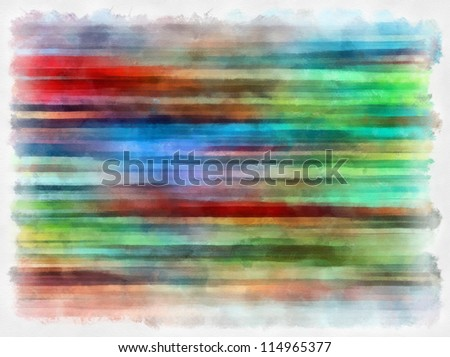 Digital structure of painting.striped colored background in grunge style - stock photo