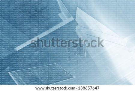 Digital Technology - stock photo