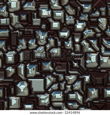 Digital technology pattern background that can be seamlessly tiled - stock photo