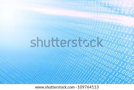 Digital Transmission - stock photo