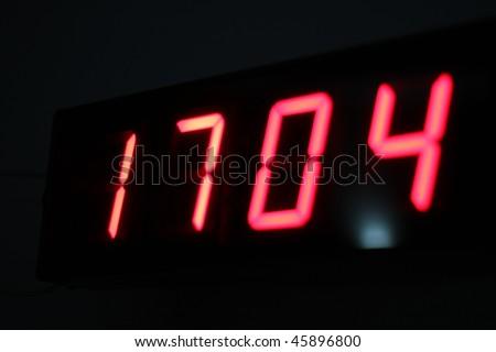 Digital Watch - stock photo