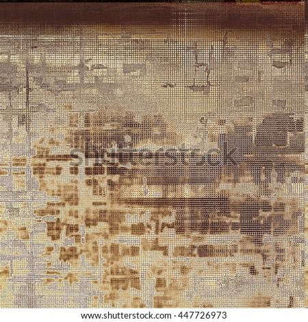 Digitally designed background or texture for retro style frame. With different color patterns: yellow (beige); brown; black; gray - stock photo